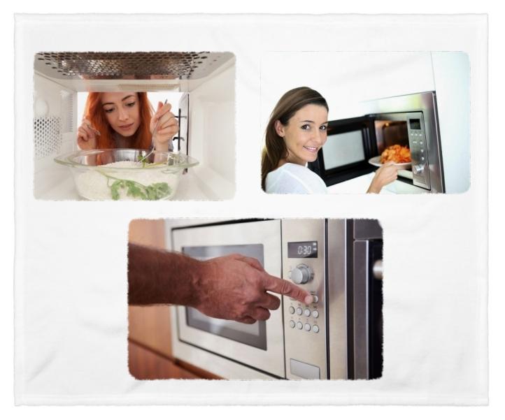 cocinar alimentos con microondas