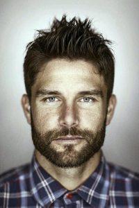 tipos de barba para rostros cuadrados